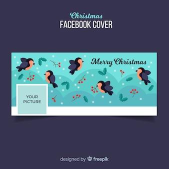 Couverture facebook design noel