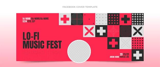 Couverture facebook du festival de musique mosaïque