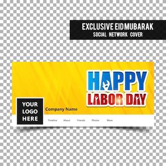 Couverture facebook de la fête du travail