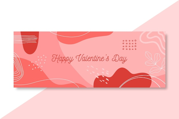 Couverture facebook happy valentine's day