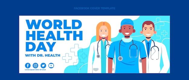 Couverture facebook médicale plate