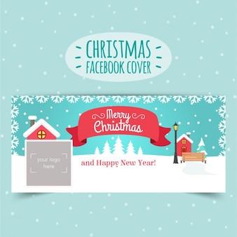 Couverture de facebook de noël