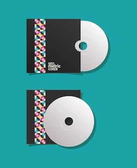 Couverture géométrique cd