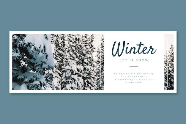 Couverture d'hiver facebook