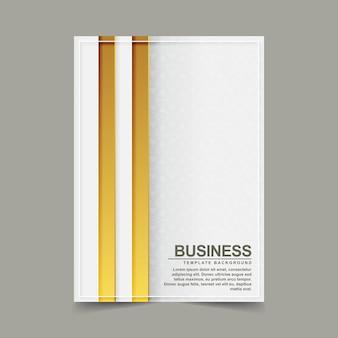 Couverture d'or abstrait moderne minimaliste