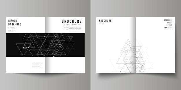 Couverture pour brochure à deux volets