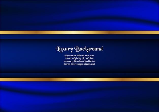 Couverture premium pour présentation commerciale, bannière web, invitation de mariage et packagi de luxe