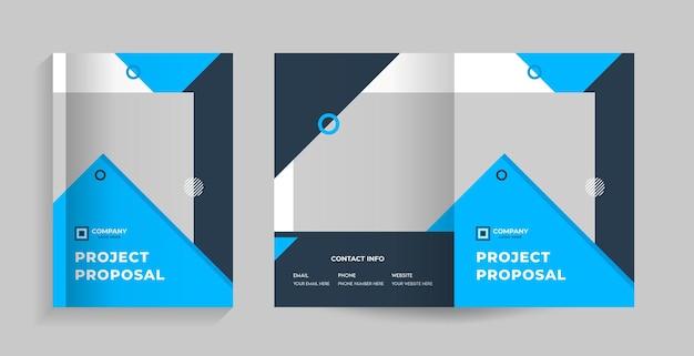 Couverture recto et verso pour brochure, profil d'entreprise, proposition, magazine de rapport annuel