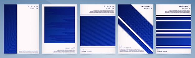 Couverture sertie de dessin géométrique abstrait