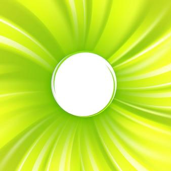 Couverture verte abstraite