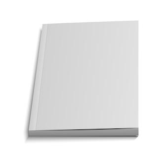 Couverture volante blanche du magazine