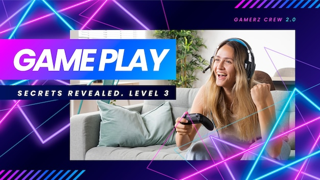 Couverture youtube du jeu vidéo néon