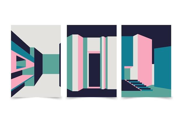 Couvertures d'architecture minimale