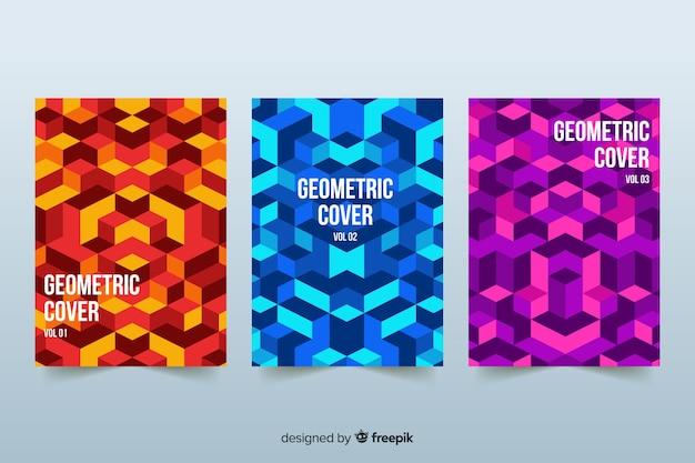 Couvertures design de style géométrique