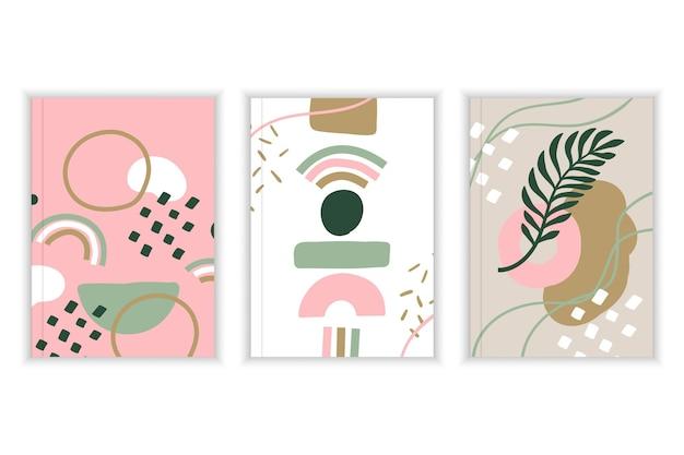 Couvertures de formes abstraites