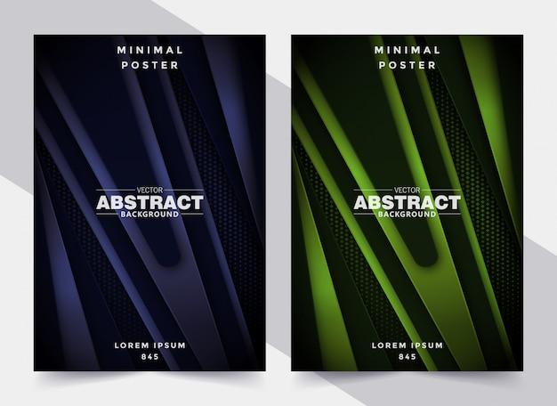 Couvertures géométriques abstraites