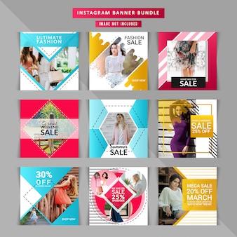 Couvertures instagram pour entreprises commerciales