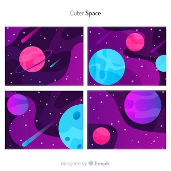 Couvre l'espace