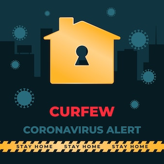 Le couvre-feu du coronavirus modifie le concept