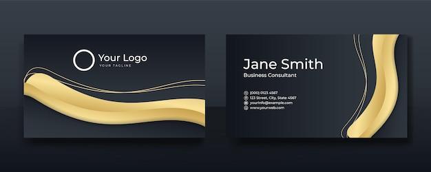 Couvrir l'en-tête et les pieds de page du modèle de brochure style de luxe à motif polygonal sur fond bleu foncé et blanc avec des lignes dorées. vous pouvez utiliser pour le papier à en-tête, l'affiche, la bannière web, l'impression et plus encore