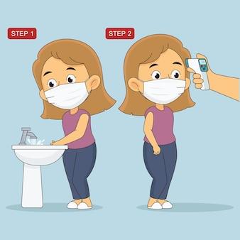 Covid 19 mesures de prévention pour ne pas tomber malade et ne pas propager le virus