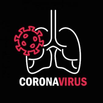 Covid-19, pandémie de coronavirus, épidémie maladie respiratoire poumons organe infecté