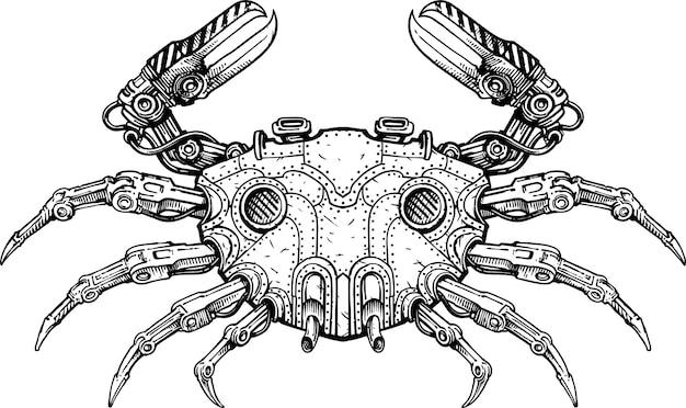 Crabe méca