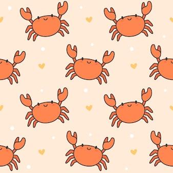 Crabe mignon sans soudure de fond
