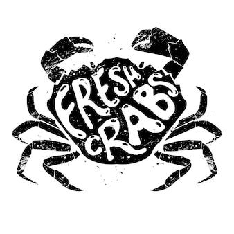 Crabes frais