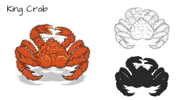 Crabes royaux