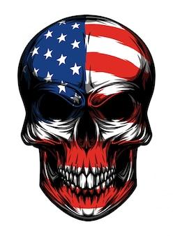Crâne américain