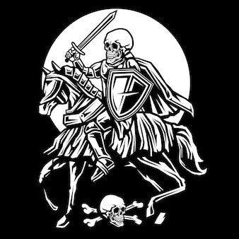 Crâne chevalier