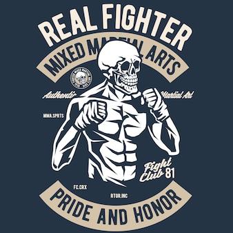 Crâne de combattant