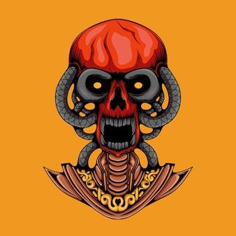 Crâne de démon