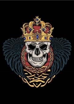 Le crâne du roi