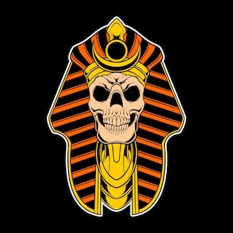 Crâne d'egypte