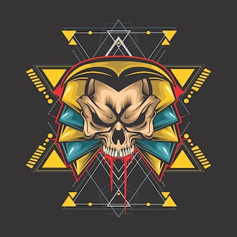 Crâne égyptien