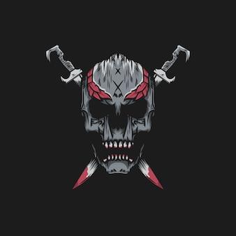 Le crâne de l'épée