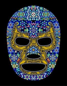 Crâne huichol mexique