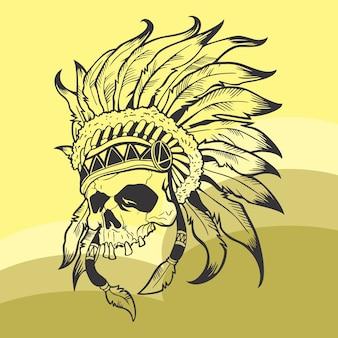 Crâne d'indiana