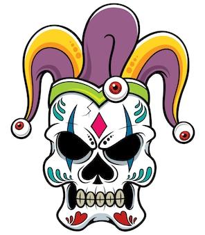 Crâne de joker
