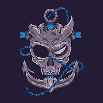 Crâne de pirates