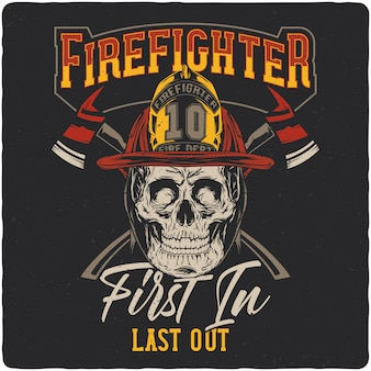 Crâne de pompier