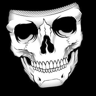 Crâne rétro