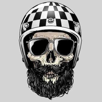 Crâne riders design