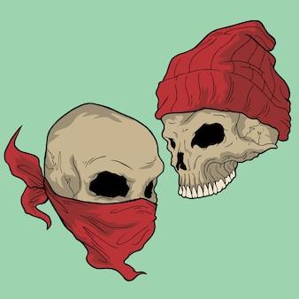 Crâne de rue