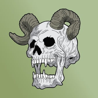Crâne de satan
