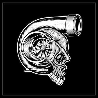 Crâne de turbo