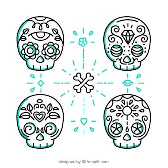 Crânes mexican mignon