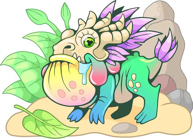 Crapaud dragon